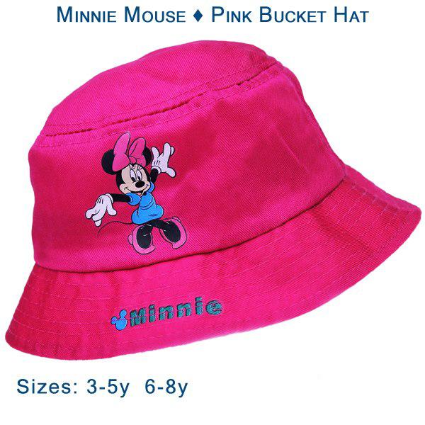 Minnie Mouse - Pink Bucket Hat - Gab s CutieWear a9d84f34139