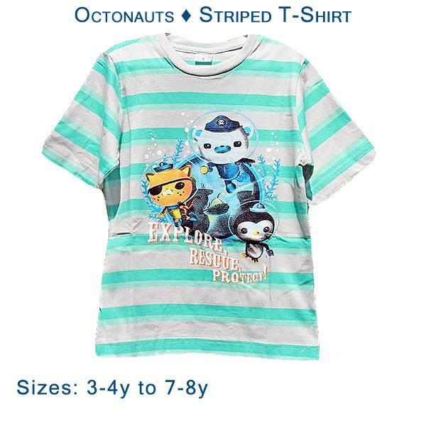 Octonauts - Striped T-Shirt - Gab\'s CutieWear
