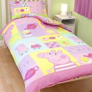 Peppa Pig - Quilt Cover Set - Cupcake - Gab's CutieWear : peppa pig quilt cover set - Adamdwight.com